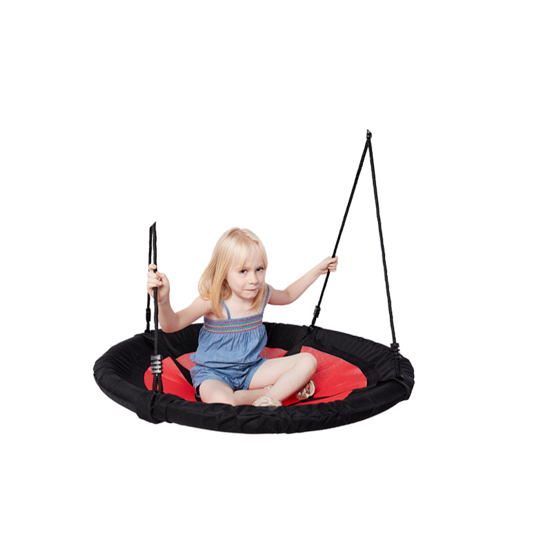 Image 3 - New Oxford Cloth Swing Outdoor Children Entertainment Toy Swing Garden Patio Swing-in Patio Swings from Furniture