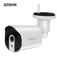 AZISHN Wifi Wired IP Camera 720P 960P 1080P Yoosee Motion Detection 6IR Metal Outdoor CCTV Camera