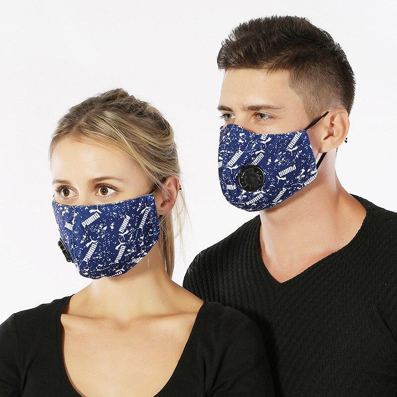 Verarbeitung In 10 Teile/paket Herbst Und Winter Neue Erwachsene Paar Mode Sport Persönlichkeit Koreanische Pm2.5 Mit Atem Ventil Maske Kind Exquisite