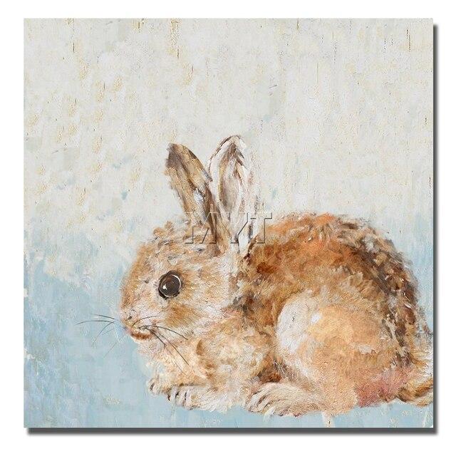Lindo conejo mascota cuadros de la pared para niños sala de ...