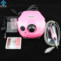 Pro Tools Unhas 30000 RPM Electric Nail Broca Brocas Brocas Acessório Acrílico Prego Broca Arquivo Máquina Manicure Pedicure Kit