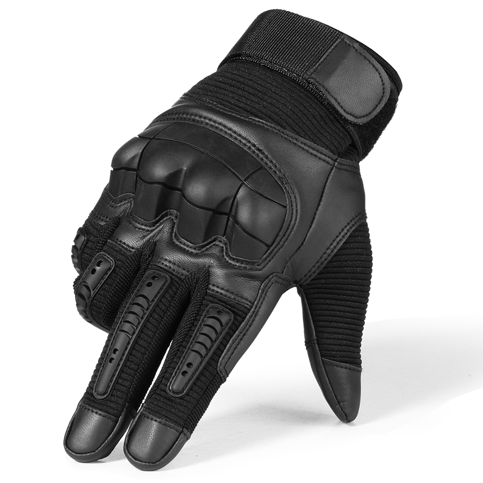 HTB1RPZiQgHqK1RjSZFgq6y7JXXaV - Touch Screen Leather Motorcycle Gloves Motocross Tactical Gear Moto Motorbike Biker Racing Hard Knuckle Full Finger Glove Mens
