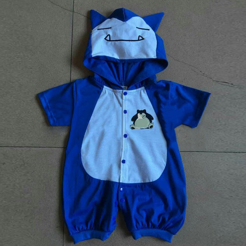 Snorlax XY monster center onesie infant baby kid pajamas romper cosplay costume on Aliexpress.com | Alibaba Group & Snorlax XY monster center onesie infant baby kid pajamas romper ...