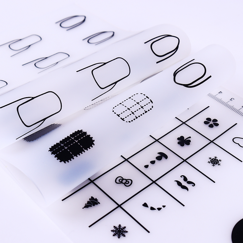 Mini Silicone Stamping Mat Foldable Washable Practice Tool ...