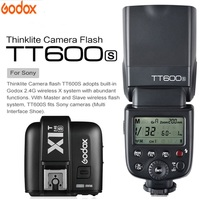 Godox TT600 For Sony a6000 a7II a7 a7r a7s TT600S Flash With TTL 1/8000s XSystem Flash Speedlite + X1T S Transmitter Trigger