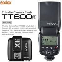 Godox TT600 для sony a6000 a7II a7 a7r a7s TT600S Flash с ttl 1/8000 s XSystem Вспышка Speedlite + X1T S передатчик триггер