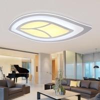 Slim Art Acrylic Leaf LED Ceiling Light Living Room Bedroom Study Room Lamp Office Commercial Location Ceiling lights 110 240V|Ceiling Lights|   -
