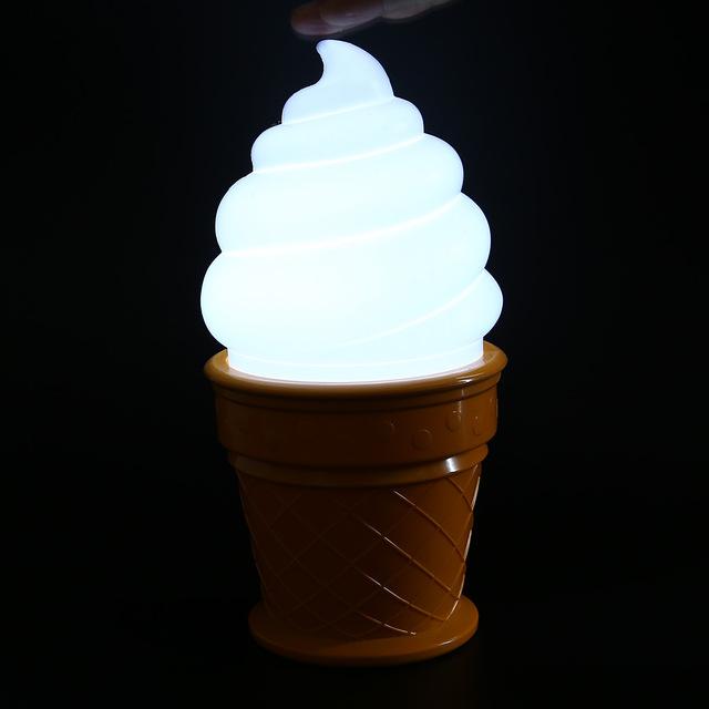 Ice Cream Shaped LED Lamp