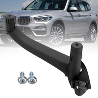 Black Car Interior Door Handles for BMW F25 F26 X3 X4 Handle Inner Part Trim Cover Right/Left Door Handle Inner Part Trim Cover