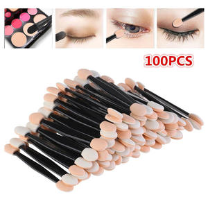 100pcs Double Eye Shadow Brush