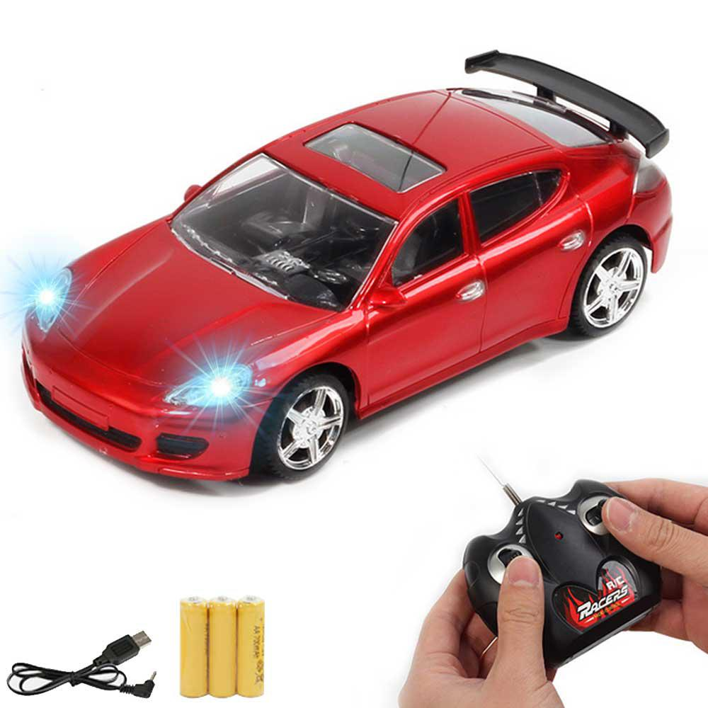 Image 2 - Children RC Racing Car Rechargeable Radio Remote Control Simulation Car with Light Model Toy Vehicle for Kids-in RC Cars from Toys & Hobbies