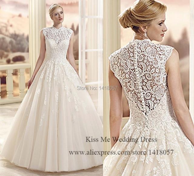 Vestidos de novia princesa 2015
