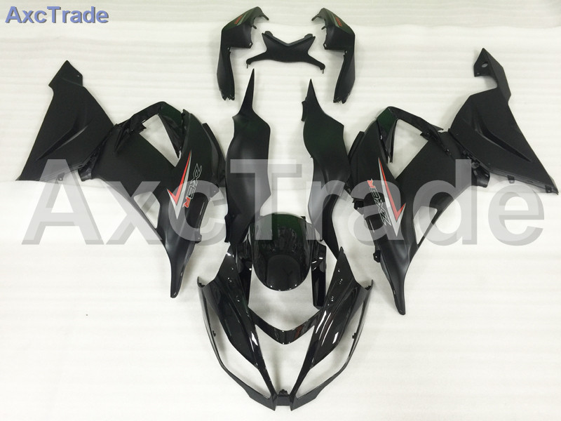 Motorcycle Fairings For Kawasaki Ninja ZX6R 636 ZX-6R 2013 2014 2015 2016 13-16 ABS Plastic Injection Fairing Bodywork Kit Black plastic fairings for kawasaki zx6r 2011 body kits 636 zx 6r 2010 2009 2012 white black bodywork zx6r 09 10