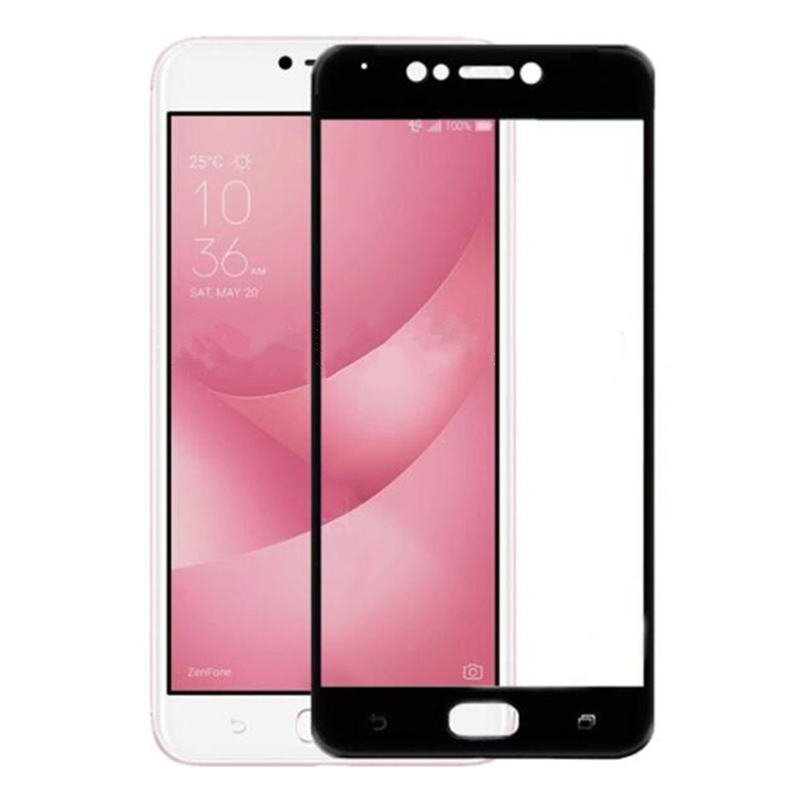 Image 3 - protective glass For Asus Zenfone 4 Max ZC554KL Tempered Screen Protector Film For Asus Zenfone 4 3 Max  Zc520TL ZC553KL ZC520KL-in Phone Screen Protectors from Cellphones & Telecommunications