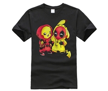 Brand Star Mens T-shirt Deadpool is always our hero Superhero love you shirt
