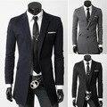 2016 de Primavera y Otoño ocio Trajes Delgado traje pequeño Inglaterra Blazer masculino hombres blazer slim fit hombres traje chaqueta