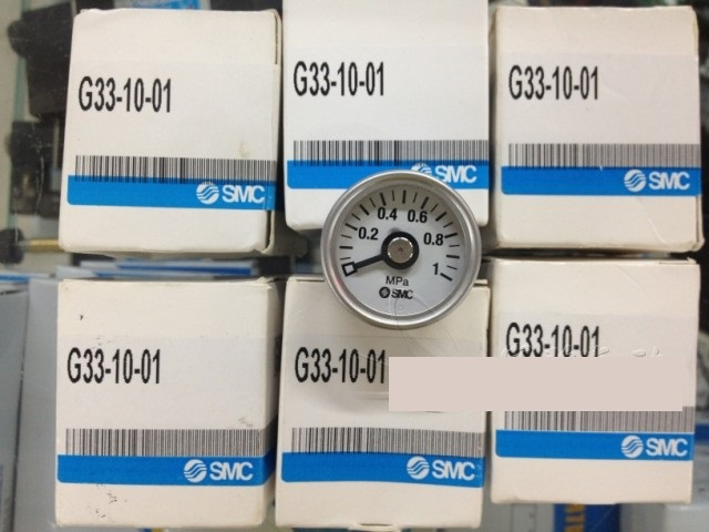 BRAND NEW JAPAN SMC GENUINE GAUGE G33-10-01 brand new japan smc genuine gauge g43 4 01