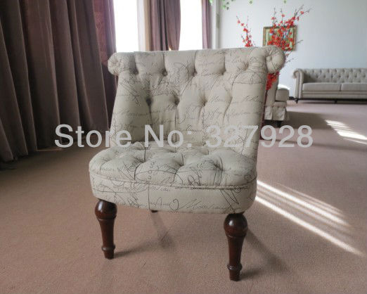 Kid upholstery chair/Accent sofa chair /antique kid unflatable chair/ Armless sofa