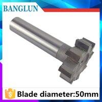 Welded Carbide T Slot Milling Cutter 50mm X 5 6 8 10 12 14 16 20mm