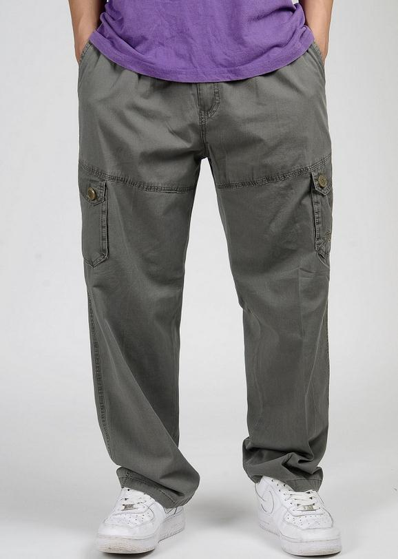 Мужские брюки-карго размера плюс XL 2XL 3XL 4XL 5XL 6XL, весенние мужские свободные брюки в стиле хип-хоп