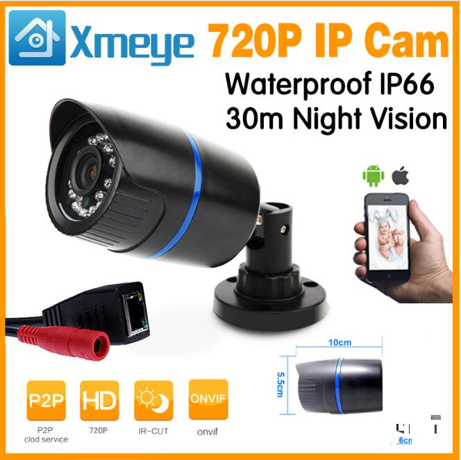Xmeye App Surveillance Outdoor Bullet CCTV 960P 720P HD IP Camera P2P ONVIF Outdoor/Indoor Motion Detect wistino xmeye bullet ip camera outdoor metal waterproof surveillance security cctv camera monitor onvif hd 720p 960p 1080p