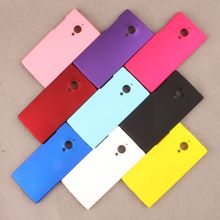 Matte Rubberized Anti-skid Style Various Color Case For IUNI U2 Ultra thin Hard Back Covers Bags