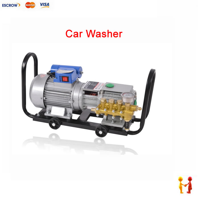 Self-priming Water Jetting Machine dynamoelectric portable water gun and water pump Family car washing 220V