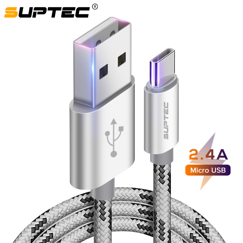 SUPTEC USB Type C Cable for Xiaomi Redmi Note 7 Mi 9 Fast Charging Wire Type C Phone Charger Cable for Samsung S10 S9 Huawei P30|Mobile Phone Cables| |  - AliExpress