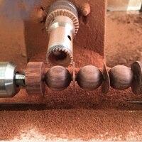 タングステン合金鋼木工ルータービット仏ビーズボールナイフビーズ処理ツール木製ビーズドリルツール6-20ミリメートル