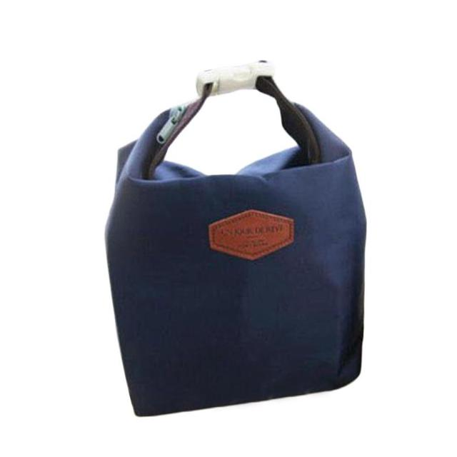 2016 Fashion Office Lady Lunch Bag Waterproof Food Storage Women Tote Insulated Pouch Cooler Casual