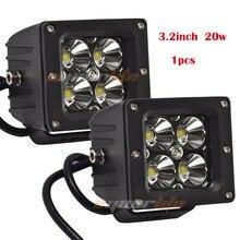 Eyourlife 3 дюймов 20 Вт 12 В 24 В Offroad площадь светодиодный свет для ATV бездорожье 4×4 грузовик