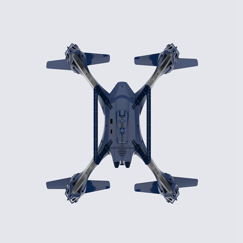 RC Drone WIFI HD Camera 2.4G 4CH Remote Control Dron Quadrocopter 4 AXIS FPV Drones R/C Quadcopter Inverted Flight Dark Blue UFO