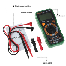 Professional Physical Measurement Multimeter + Measuring Line Alligator Clip Multi-function Measuring Tool Multimeter f47t automatic protective multimeter measurement automatically protect any file by mistake