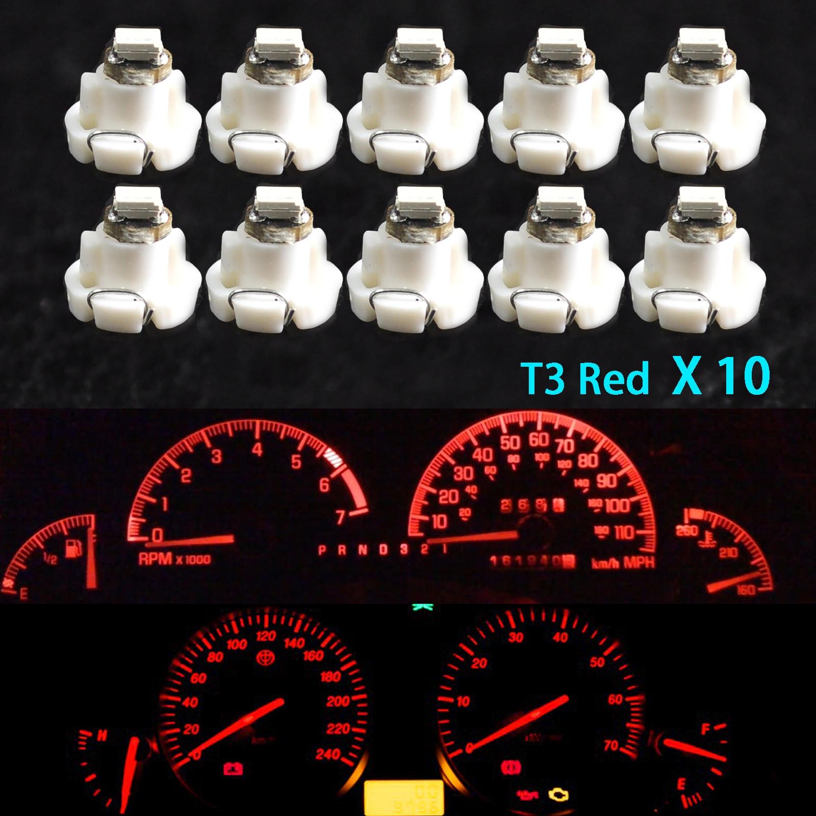 10-st-cke-Auto-Licht-T4-T4-2-Neo-Keil-Led-lampe-Cluster-Instrument-Dash-Klima Wunderbar Led Lampen Auto Innenraum Dekorationen