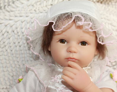 New commodity, about 42cm silicone reborn sleep baby dolls toy, birthday gift for child baby kid, girl brinquedosNew commodity, about 42cm silicone reborn sleep baby dolls toy, birthday gift for child baby kid, girl brinquedos