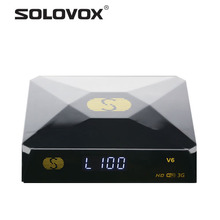Factory Outlet 1PC Free Shipping Original Mini S-V6 Satellite Receiver Support 2 USB WEB TV Card Sharing CCCAM/NEWCAM Youporn
