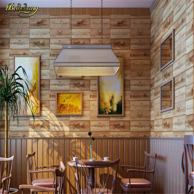 home wine room lighting effect. Beibehang Or Walls 3d Roll 3D Effect Retro Decorative Wine Box Plaid Zakka Background Wall Wallpaper Home Room Lighting
