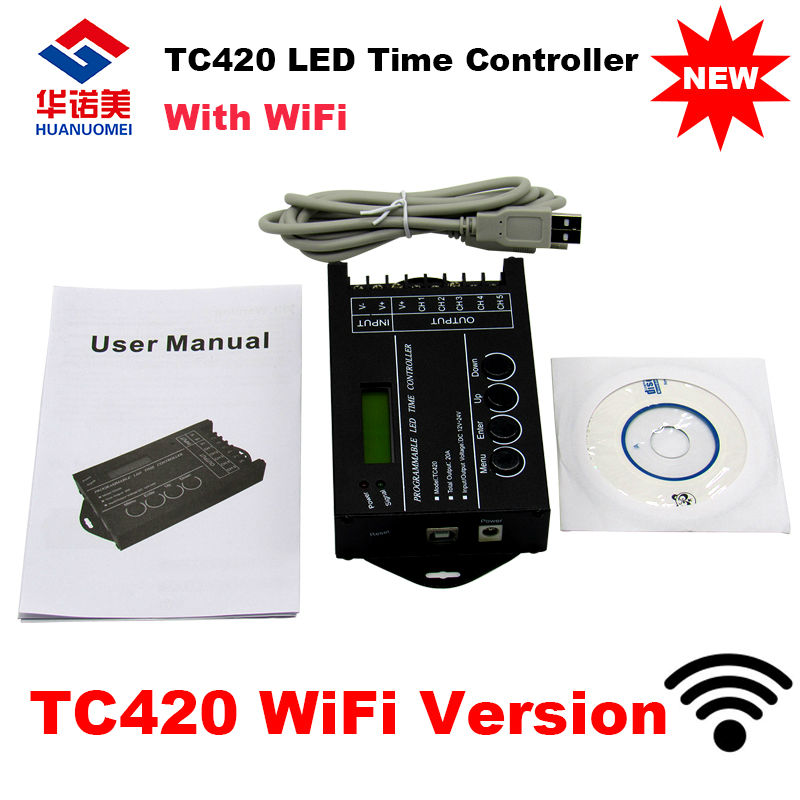 d575abceed Αξεσουάρ φωτισμού Newest TC421 WiFi time programmable led controller tc420  dimmer rgb aquarium lighting timer
