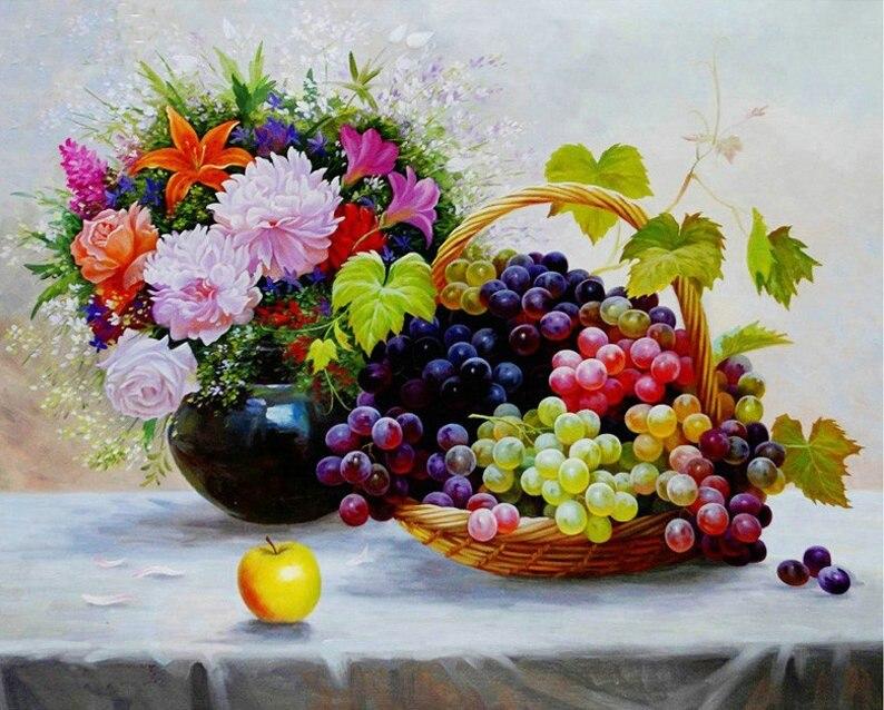 мозаика винограда
