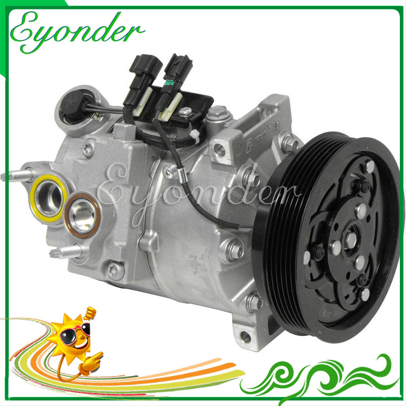 US $176 72 6% OFF|A/C AC Air Conditioning Compressor Cooling Pump Clutch  6PK for VOLVO S80 II Saloon AS 3 2 T6 30722087 30780590 36000497  30780589-in