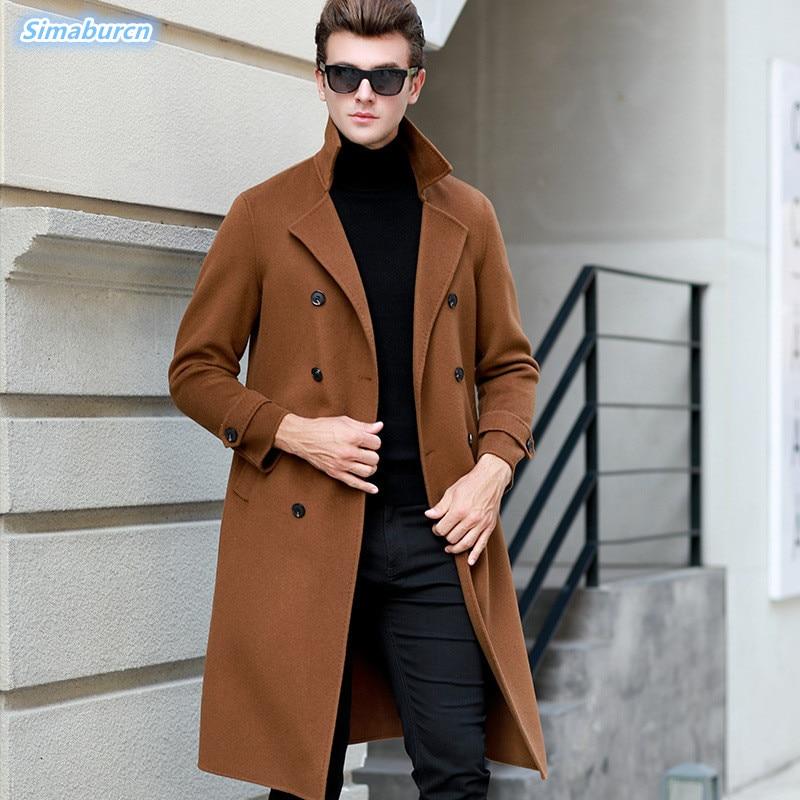 Кардиган с длинным рукавом Для мужчин брендовый свитер 2018 осень зима Новое поступление Повседневное шерстяные свитера долго тянуть Homme муж