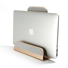 Soporte rígido de aleación de aluminio 2 en 1 para Macbook Air Pro, Retina 11 12 13 15, soporte de Base Vertical para IPAD PC, soporte de enfriamiento
