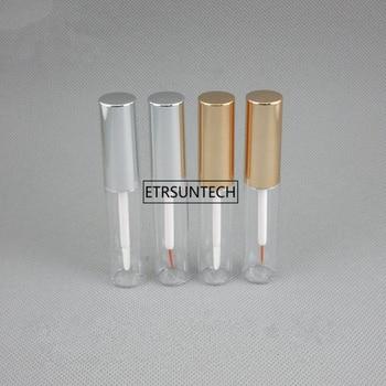 100pcs 8ml Empty Eyeliner Container Bottle Tube With Brush,Empty Liquid Lip Gloss Bottle Applicator Refillable Tube F3072