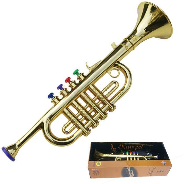 Musical Toy Trumpet : Aliexpress buy kids mini musical instrument baby