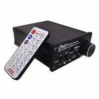 MP3 Digital Power Amplifier Amplificador Stereo Music 320W High power HIFI HI FI Wireless Home Audio Kit Remote Transmission