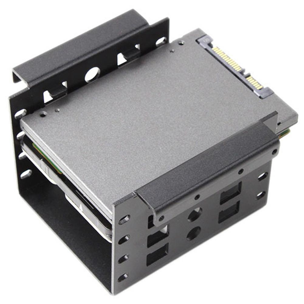 New 2.5 To 3.5inch Hard Disk Drive Mounting Bracket Kit HDD SSD SATA Bay Converter