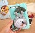 Kawaii NEW BUS TOTORO 20*12CM BIG Plush Case Storage Keys BAG Holder Wallet Pouch Women  Phone Pouch Animal Movies Toys