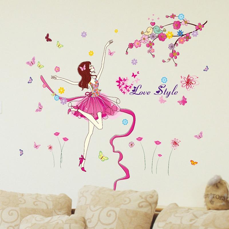 [SHIJUEHEZI] Балет әртісі Wall Sticker - Үйдің декоры - фото 4