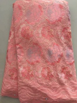 African Lace Fabric 2018 High Quality Swiss Voile Lace In Switzerland Nigerian Cotton Lace Fabrics For Wedding 2018