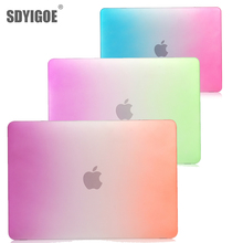 New Laptop Hard Cover Case For MacBook Pro 12 Inch with retian Hard matte Gradient color shell For Model: A1534 A1931